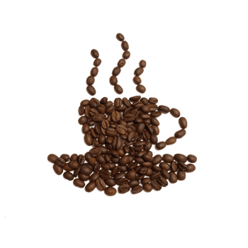 咖啡豆创意素材图片