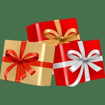 金色红色包装精美立体礼盒