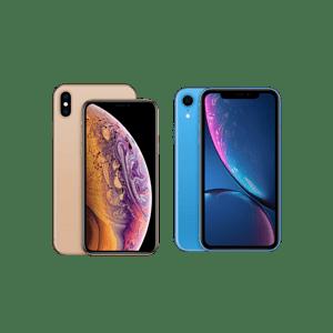 iphonexs金色和iphonexr蓝色