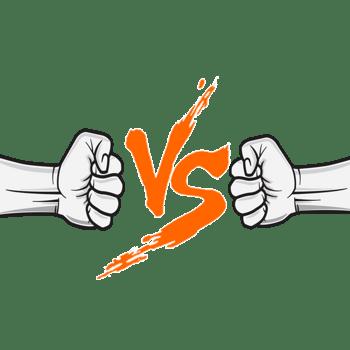 vs对战免抠拳头素材