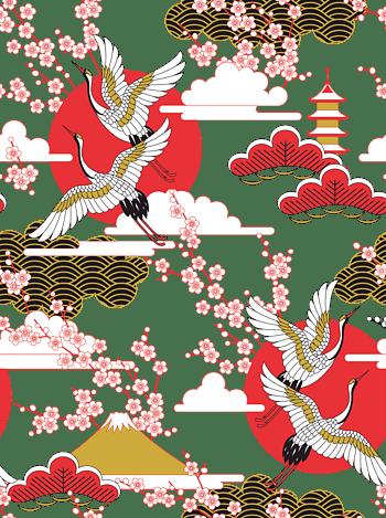 日本风插画