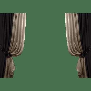 灰白色的窗帘