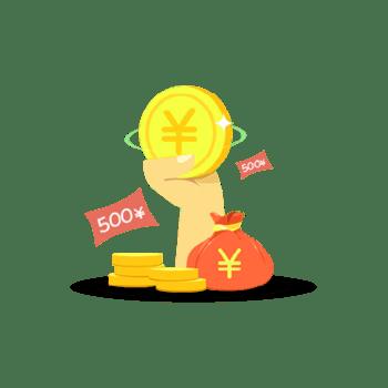 金币红包钱袋免抠素材