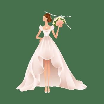 唯美漂亮的婚纱新娘