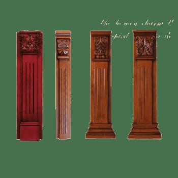 实木柱子子