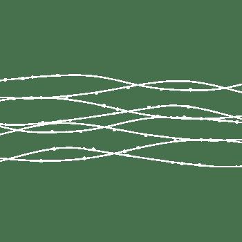 手绘可爱交叉曲线水波纹