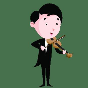 儿童乐器演奏