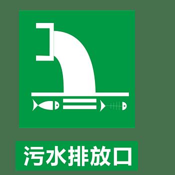 污水排放口