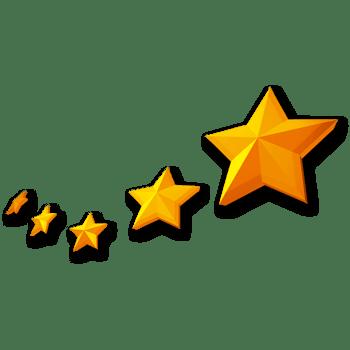 黄色星星,淘宝素材,7.1建党节元素