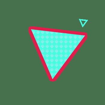 三角形 不规则形状 背景素材 免扣png
