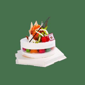 夹心水果蛋糕图片素材