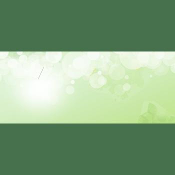 绿色光晕清新背景