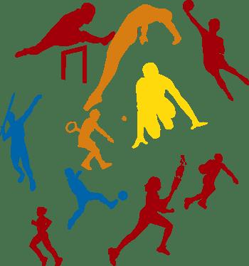 人,人物,淘宝素材,扁平人物,运动会元素