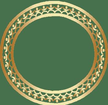 金色圆环素材图片