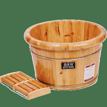 木盆足浴桶