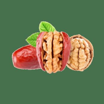 美食素材红枣核桃