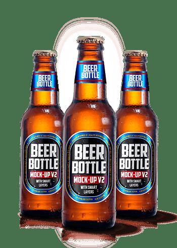 啤酒瓶棕色