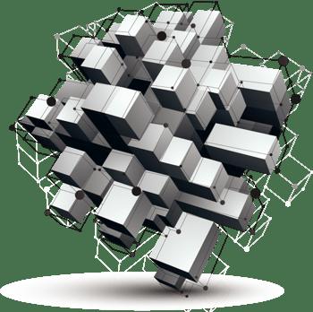 几何物体背景矢量素材