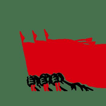 国庆党建红旗
