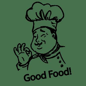 厨师food字体
