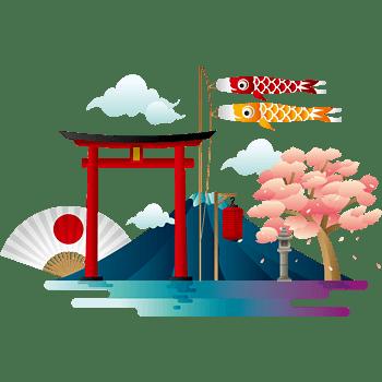 矢量图日本风