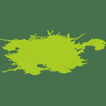 绿色背景喷画素材