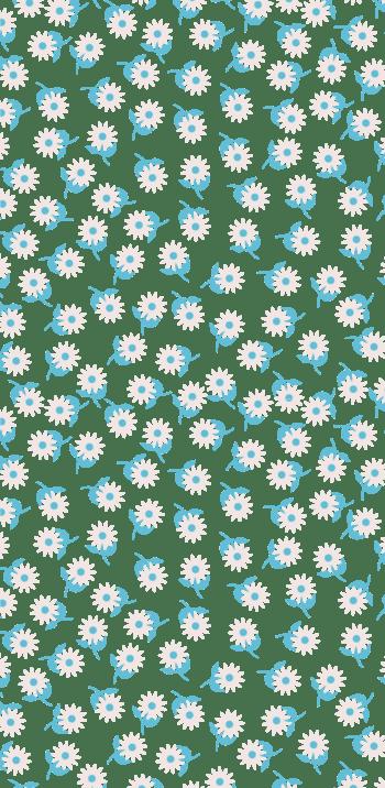 矢量清新蓝色花朵底纹背景素材