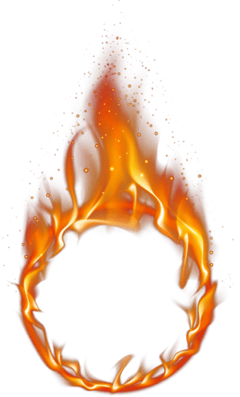 火圈PSD分层素材