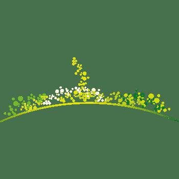 抽象清新春天绿色点点圆点