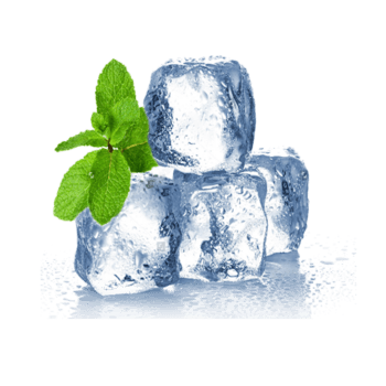 薄荷冰快素材图片