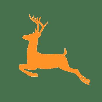矢量手绘麋鹿图片
