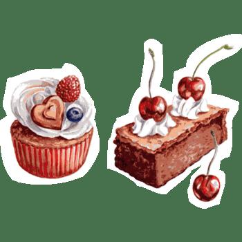精美卡通蛋糕