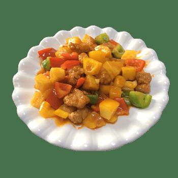 菠萝咕咾肉免抠素材