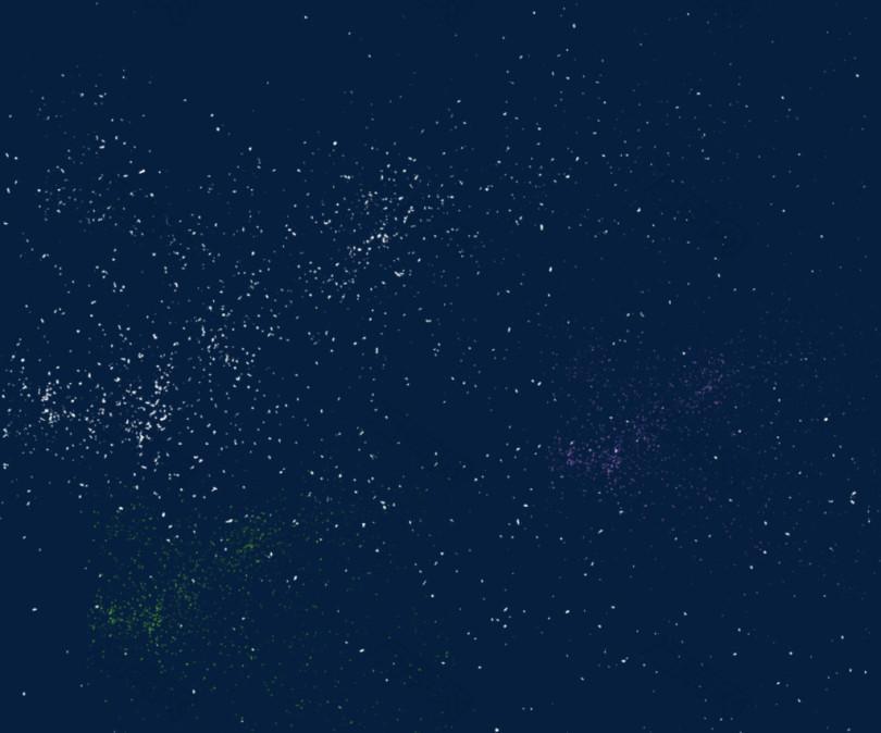 浩瀚的宇宙星空