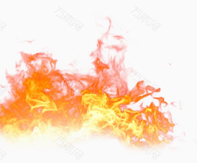红色火焰装饰火焰火花
