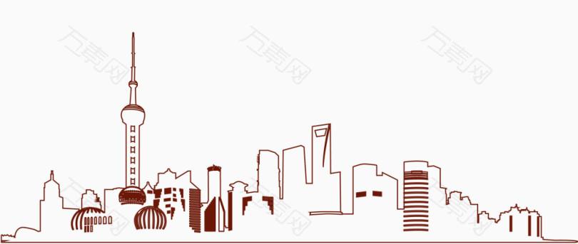 城市建筑大厦东方明珠