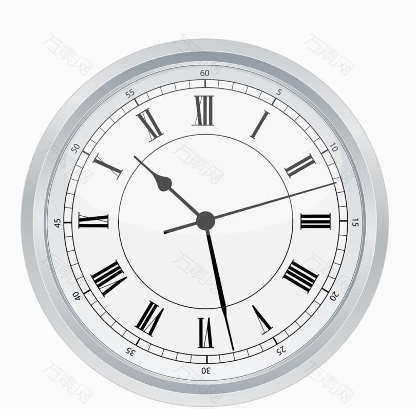 卡通闹钟时间钟表