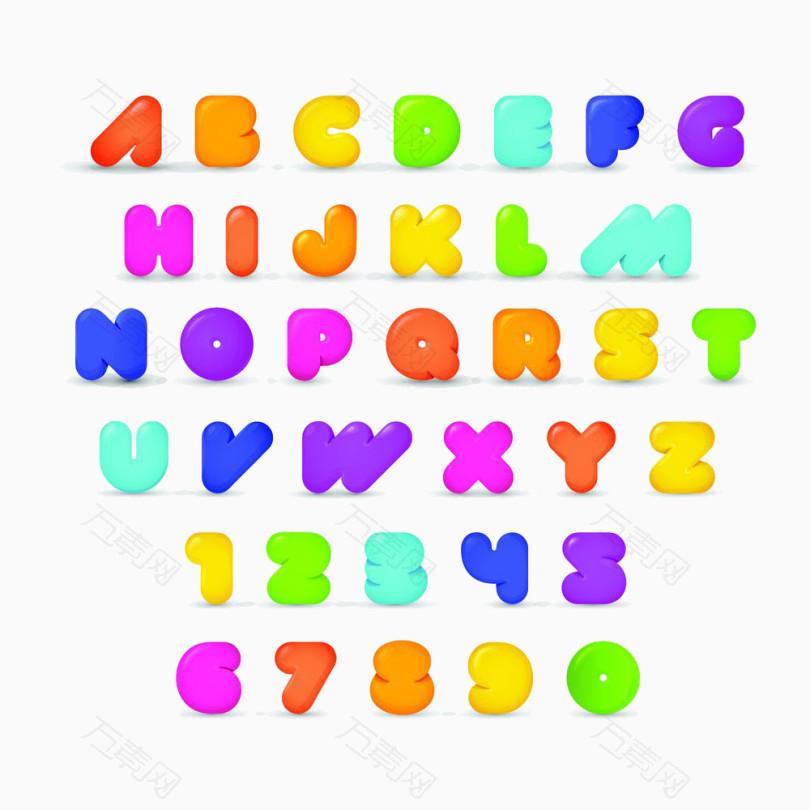 糖果英文字母合集