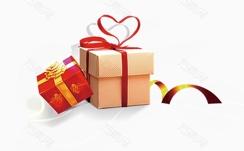 双十一狂欢节日礼包礼品拆礼盒
