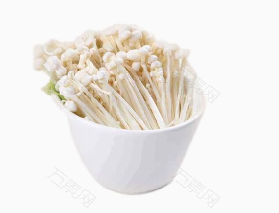 产品实物金针菇