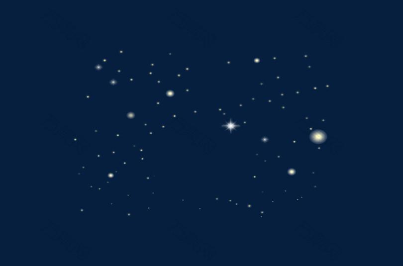 星空光晕星光