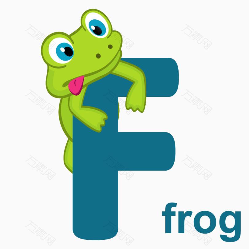 看图识字字母F