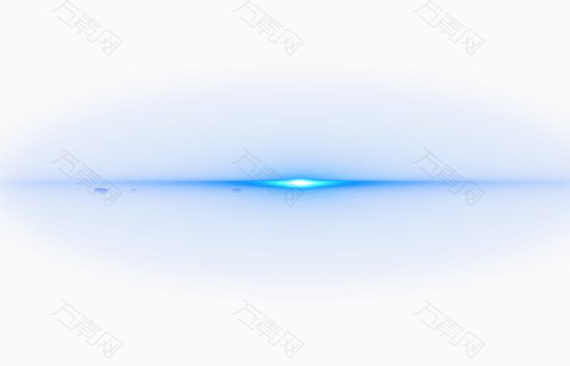 光效素材蓝色光效