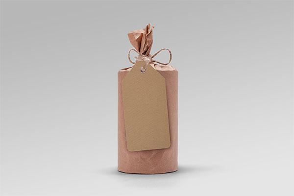 圆筒食品包装样机