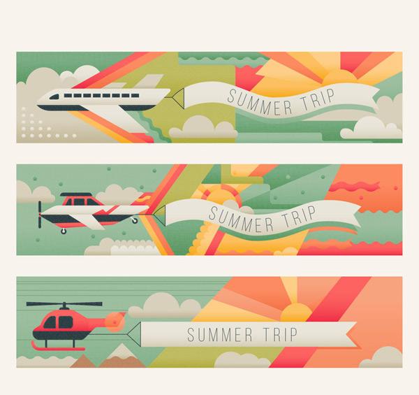 夏季旅行banner