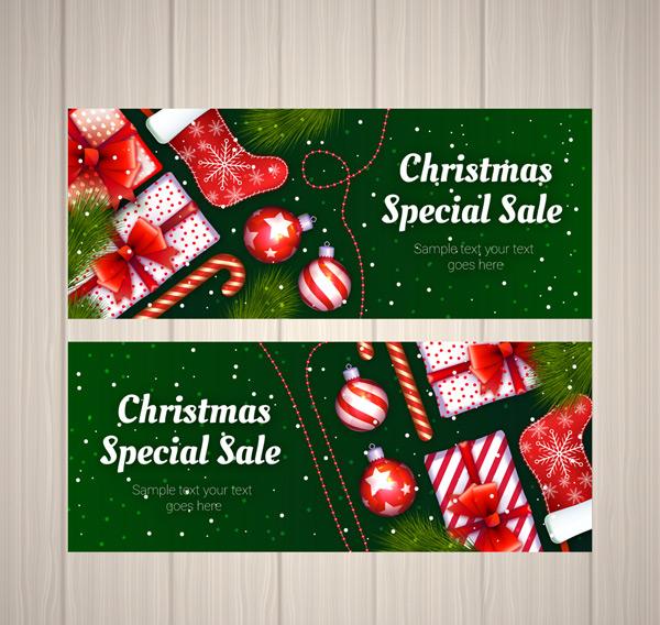 圣诞促销banner
