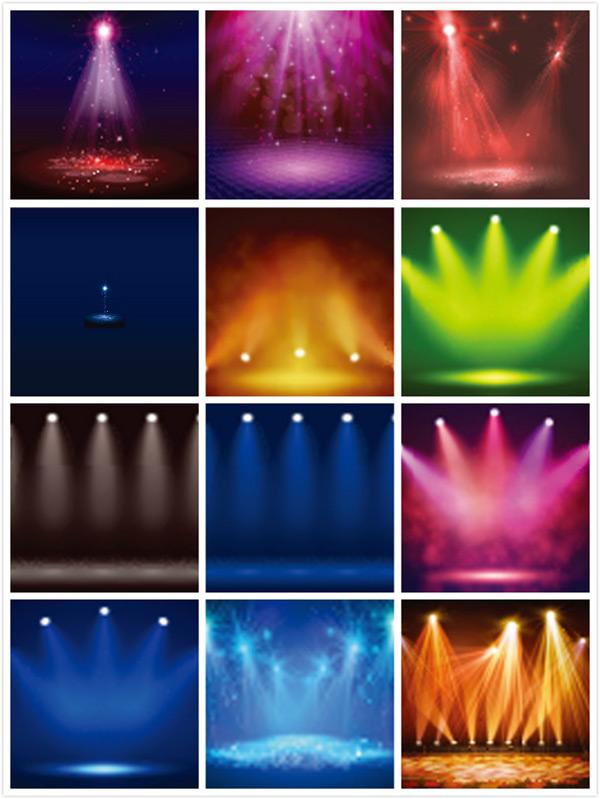 舞台灯光光效