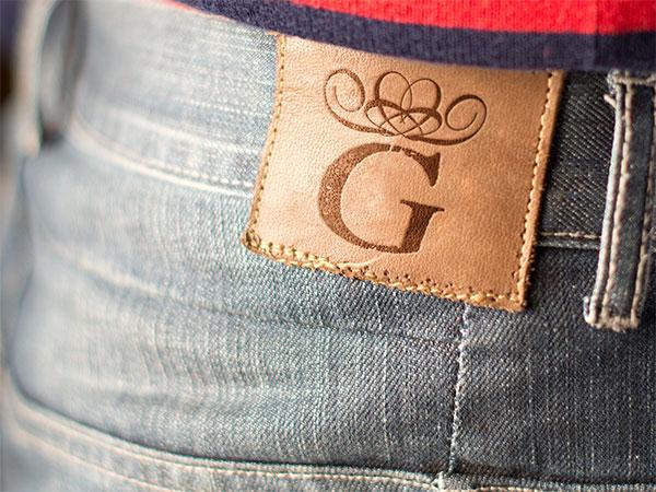 腰带logo样机