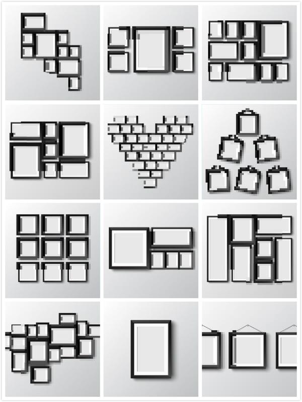 画框相框设计矢量