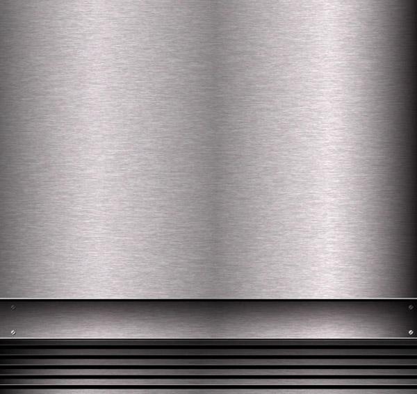 银色拉丝钢板背景